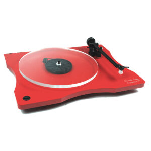 vinyl turntable adelaide red