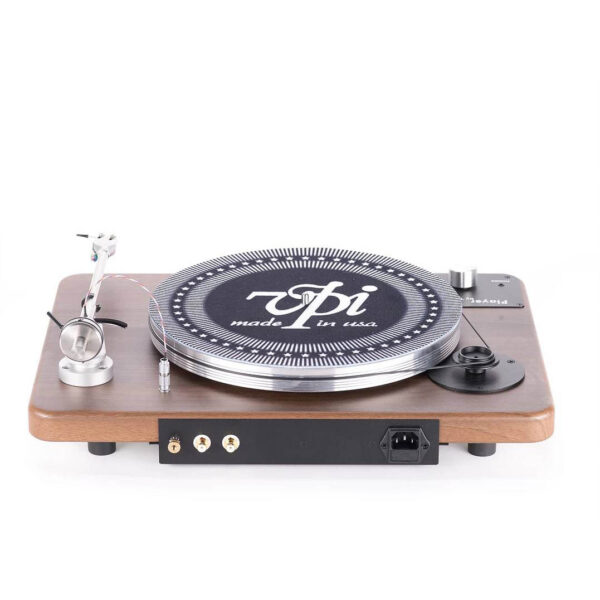 vpi industries player turntable rear tonearm