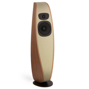 davone twist light brown fabric loudspeaker adelaide hifi south australia