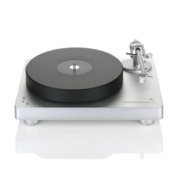 Clearaudio CAU-TP060/S Performance DC with Radial Armboard Turntable (silver base and trim)