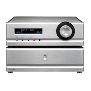 Pass XS preamp dual chassis preamplifier