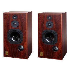 Harbeth Super HL5 Plus 3-way Vented Bookshelf/Standmount Speakers (rosewood, pair)