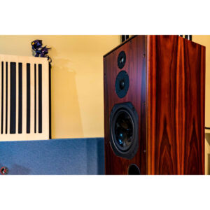 Harbeth Super HL5 Plus 3-way Vented Bookshelf/Standmount Speakers rosewood
