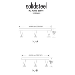 Solidsteel Hyperspike HJ-A High-end Power Amp Stand